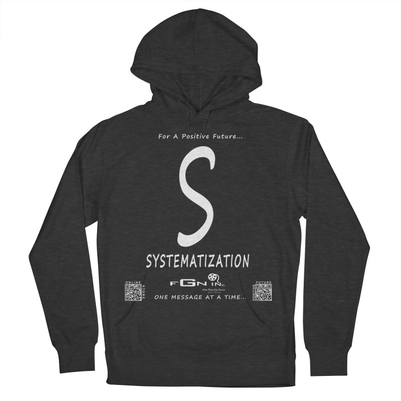691A - S For Systematization Men's French Terry Pullover Hoody by FGN Inc. Online Shop