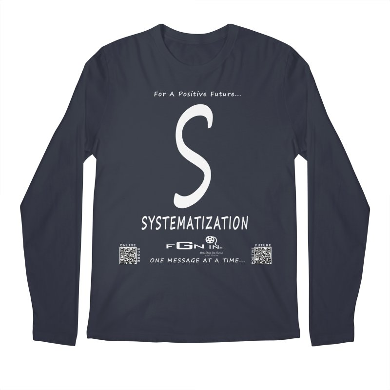 691A - S For Systematization Men's Regular Longsleeve T-Shirt by FGN Inc. Online Shop
