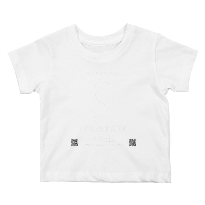 691A - S For Systematization Kids Baby T-Shirt by FGN Inc. Online Shop