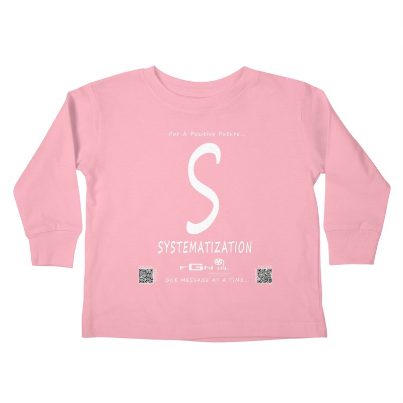 691A - S For Systematization Kids Toddler Longsleeve T-Shirt by FGN Inc. Online Shop