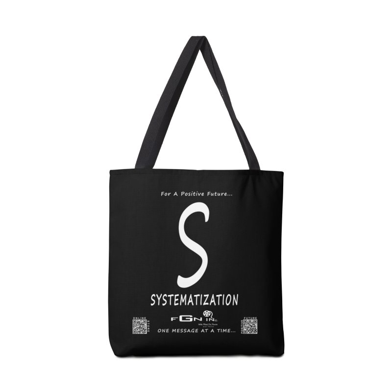 691A - S For Systematization Accessories Tote Bag Bag by FGN Inc. Online Shop