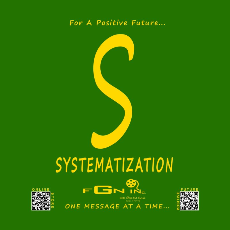 691B - S For Systematization Men's Longsleeve T-Shirt by FGN Inc. Online Shop