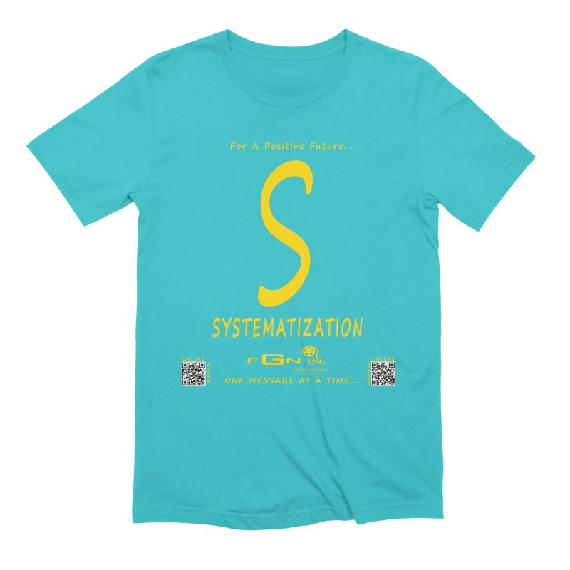 691B - S For Systematization Men's T-Shirt by FGN Inc. Online Shop