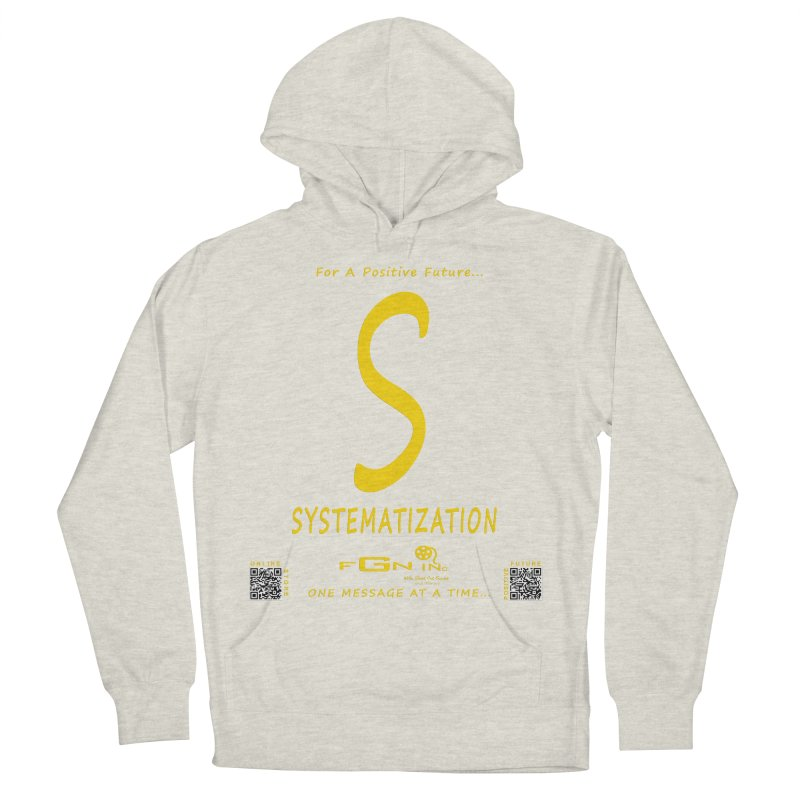 691B - S For Systematization Men's French Terry Pullover Hoody by FGN Inc. Online Shop