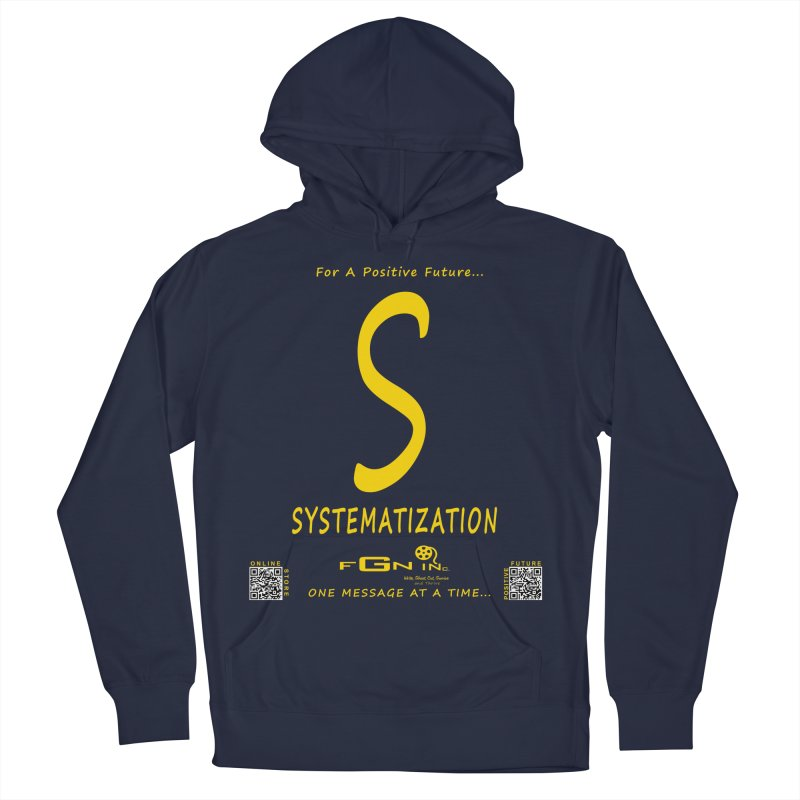 691B - S For Systematization Men's Pullover Hoody by FGN Inc. Online Shop