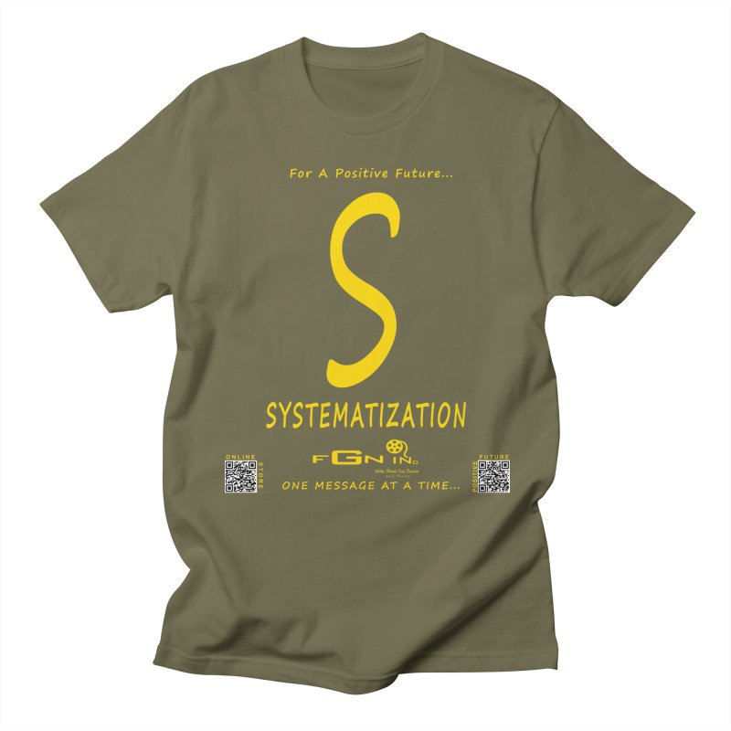 691B - S For Systematization Women's Regular Unisex T-Shirt by FGN Inc. Online Shop