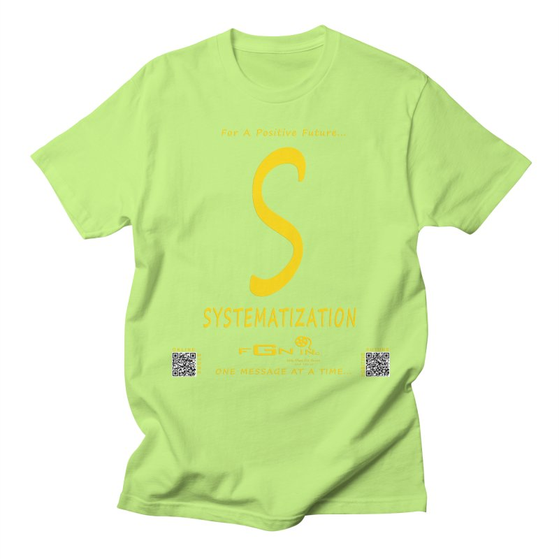 691B - S For Systematization Women's Regular Unisex T-Shirt by FGN Inc. Online Shop