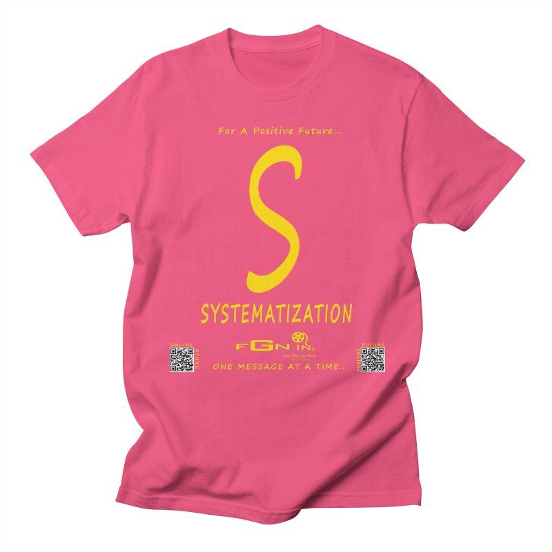 691B - S For Systematization Men's Regular T-Shirt by FGN Inc. Online Shop