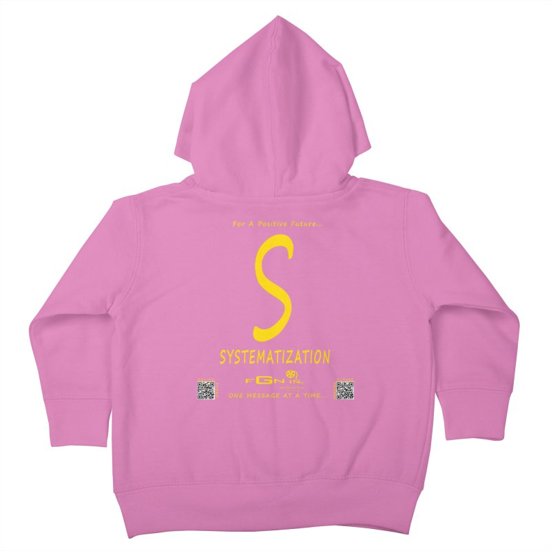 691B - S For Systematization Kids Toddler Zip-Up Hoody by FGN Inc. Online Shop
