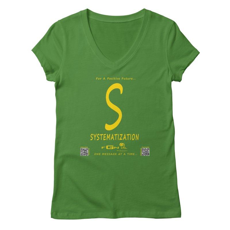 691B - S For Systematization Women's Regular V-Neck by FGN Inc. Online Shop