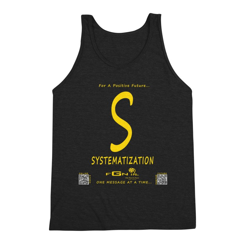 691B - S For Systematization Men's Tank by FGN Inc. Online Shop