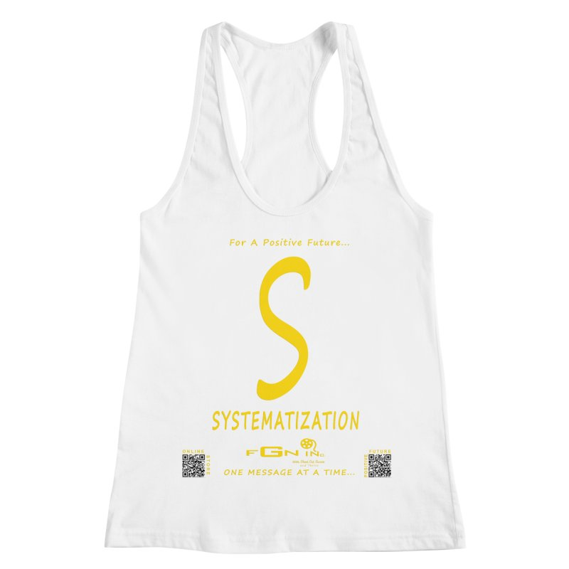 691B - S For Systematization Women's Racerback Tank by FGN Inc. Online Shop
