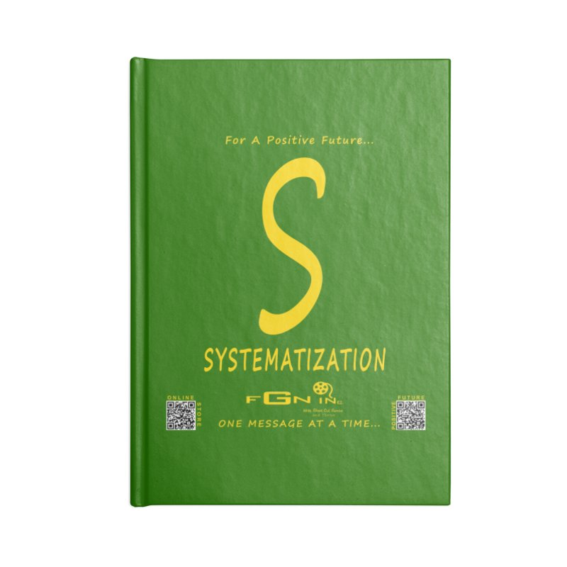 691B - S For Systematization Accessories Blank Journal Notebook by FGN Inc. Online Shop