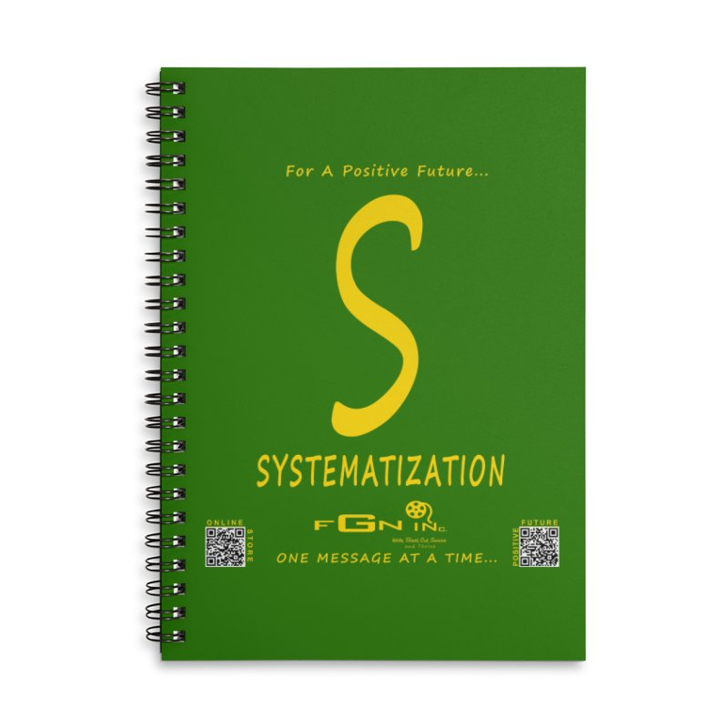 691B - S For Systematization Accessories Lined Spiral Notebook by FGN Inc. Online Shop