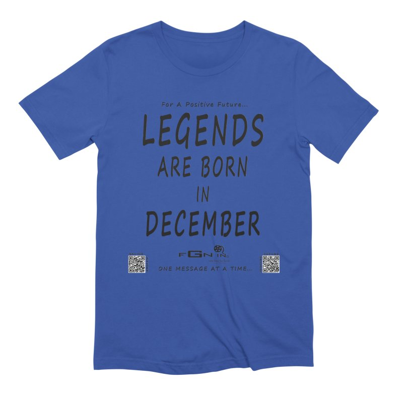 692 - Legends Are Born In December - On A Day To Remember Men's T-Shirt by FGN Inc. Online Shop