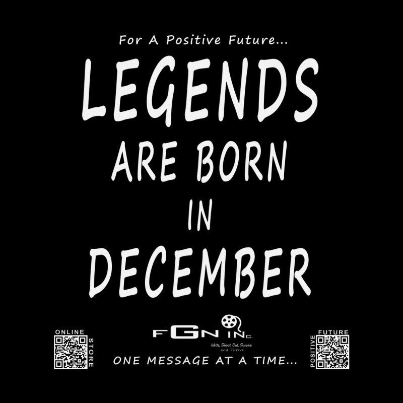 692A - Legends Are Born In December - On A Day To Remember Women's Scoop Neck by FGN Inc. Online Shop