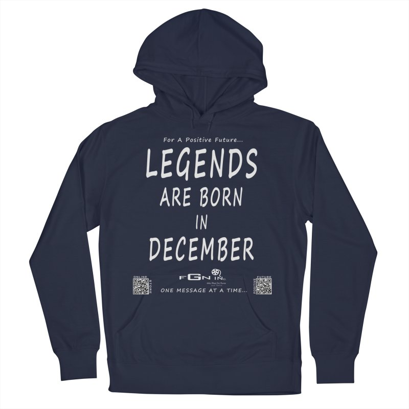 692A - Legends Are Born In December - On A Day To Remember Men's Pullover Hoody by FGN Inc. Online Shop