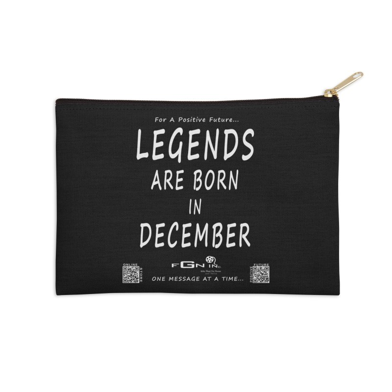692A - Legends Are Born In December - On A Day To Remember Accessories Zip Pouch by FGN Inc. Online Shop