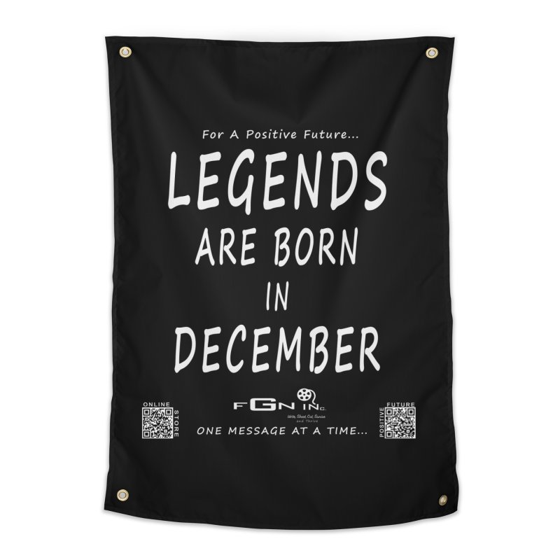 692A - Legends Are Born In December - On A Day To Remember Home Tapestry by FGN Inc. Online Shop