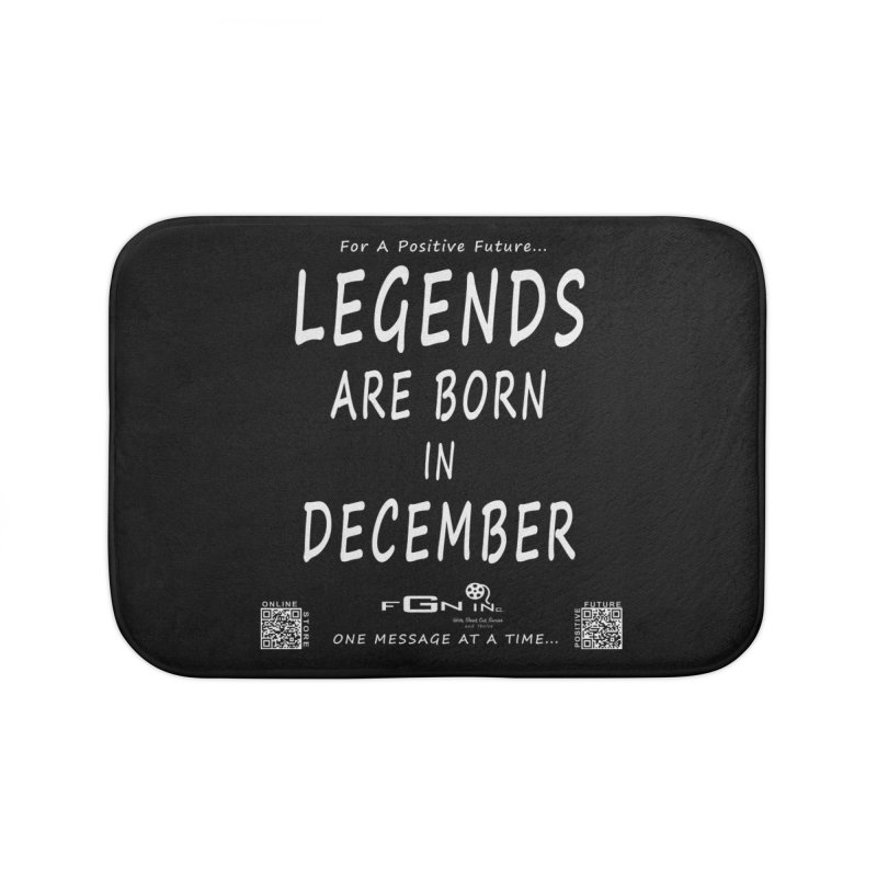 692A - Legends Are Born In December - On A Day To Remember Home Bath Mat by FGN Inc. Online Shop