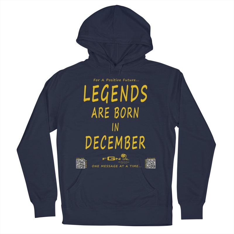692B - Legends Are Born In December - On A Day To Remember Men's Pullover Hoody by FGN Inc. Online Shop