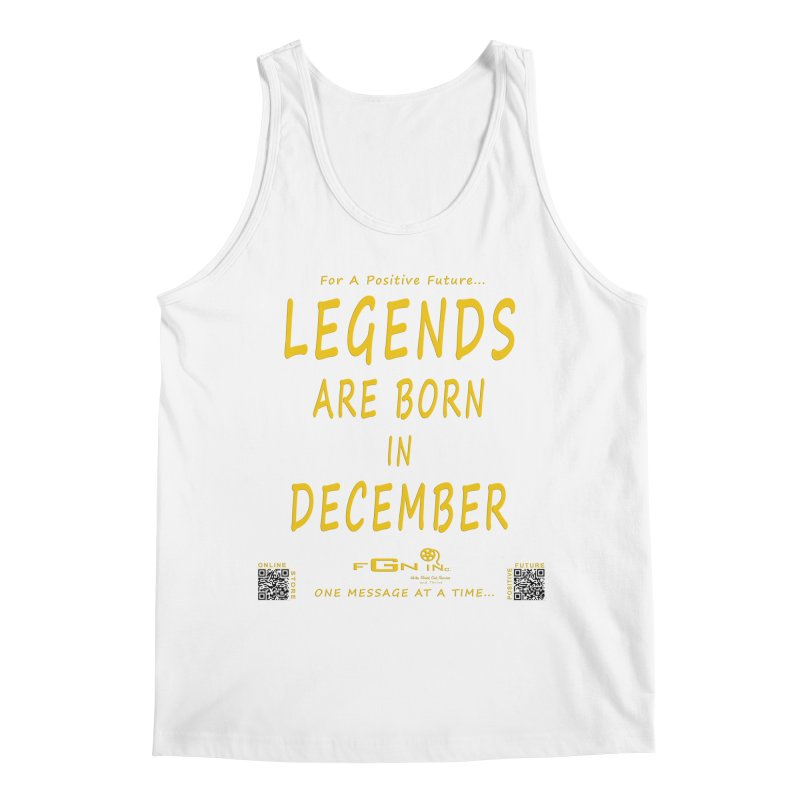 692B - Legends Are Born In December - On A Day To Remember Men's Regular Tank by FGN Inc. Online Shop