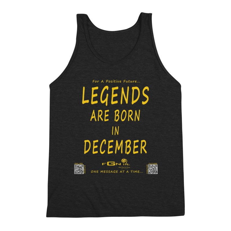 692B - Legends Are Born In December - On A Day To Remember Men's Tank by FGN Inc. Online Shop