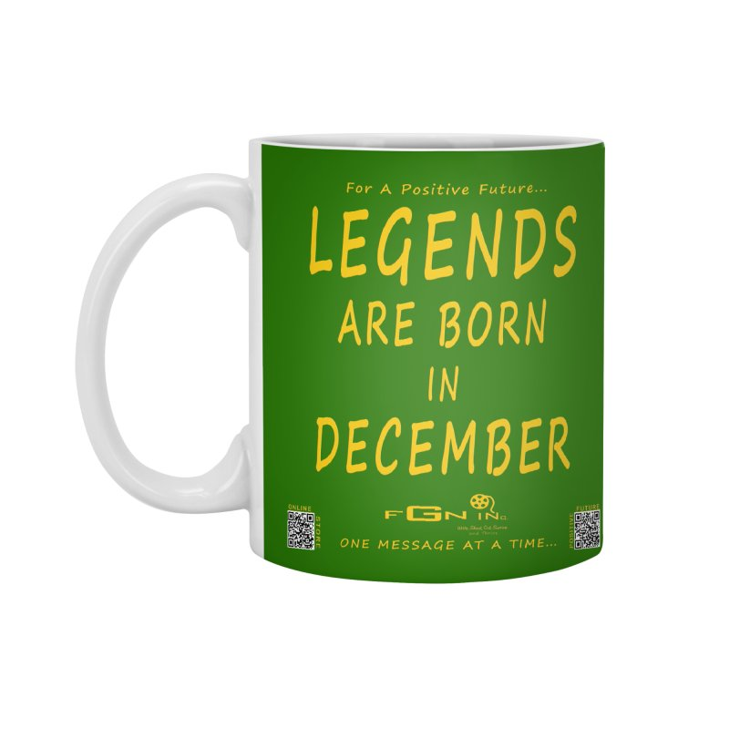 692B - Legends Are Born In December - On A Day To Remember Accessories Standard Mug by FGN Inc. Online Shop