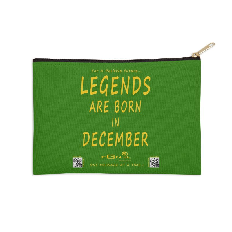 692B - Legends Are Born In December - On A Day To Remember Accessories Zip Pouch by FGN Inc. Online Shop