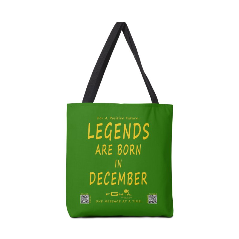 692B - Legends Are Born In December - On A Day To Remember Accessories Tote Bag Bag by FGN Inc. Online Shop