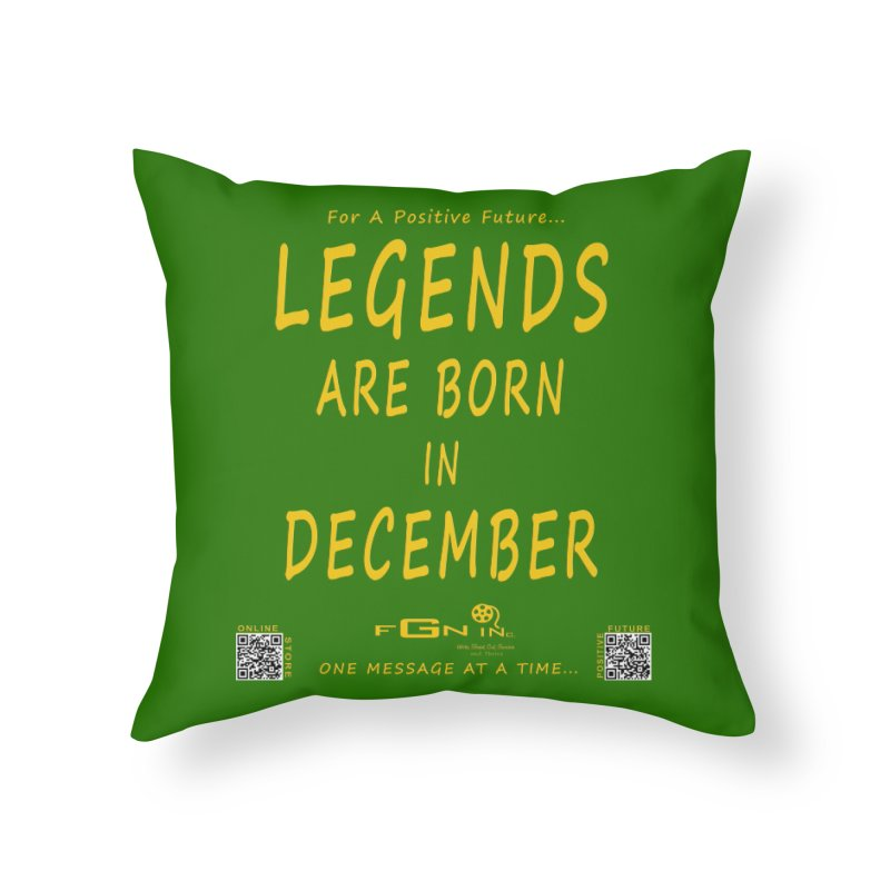 692B - Legends Are Born In December - On A Day To Remember Home Throw Pillow by FGN Inc. Online Shop