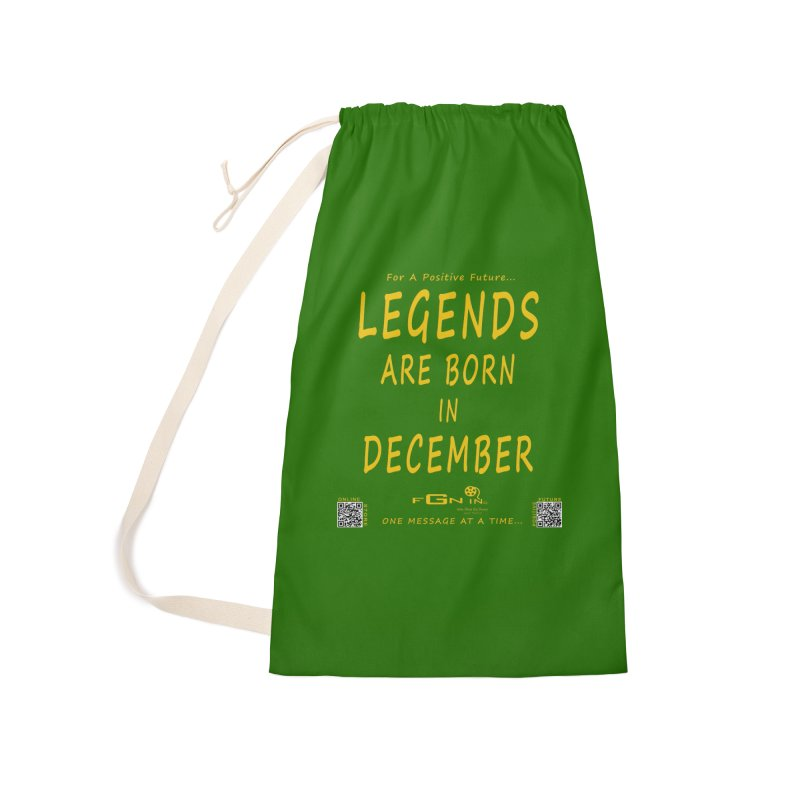 692B - Legends Are Born In December - On A Day To Remember Accessories Laundry Bag Bag by FGN Inc. Online Shop