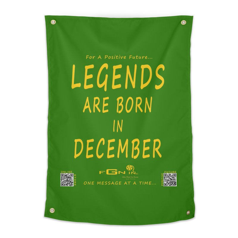 692B - Legends Are Born In December - On A Day To Remember Home Tapestry by FGN Inc. Online Shop