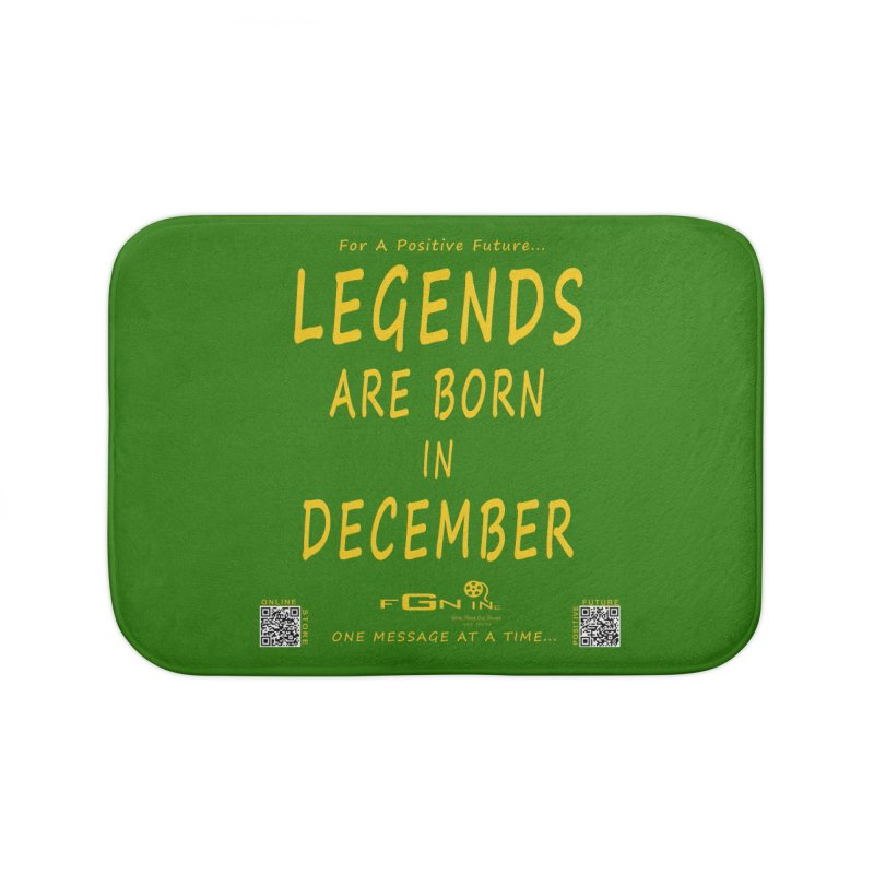 692B - Legends Are Born In December - On A Day To Remember Home Bath Mat by FGN Inc. Online Shop