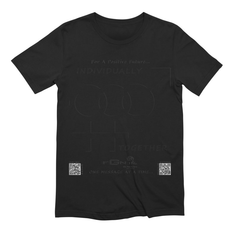 693 - Individually Together Men's T-Shirt by FGN Inc. Online Shop