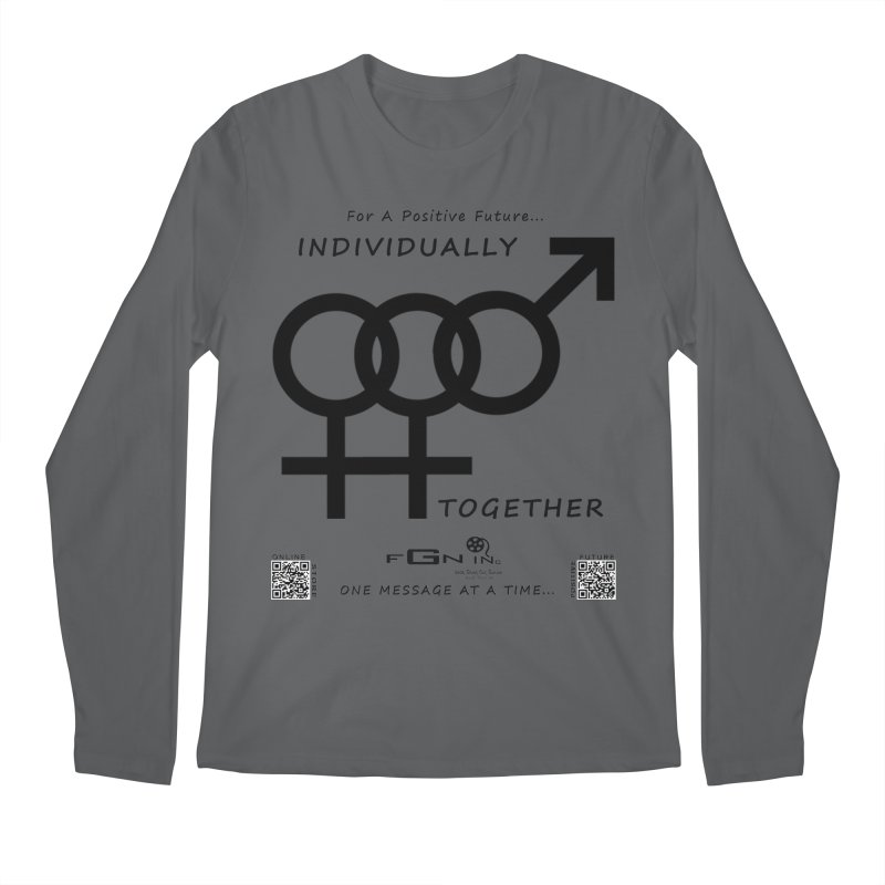 693 - Individually Together Men's Longsleeve T-Shirt by FGN Inc. Online Shop