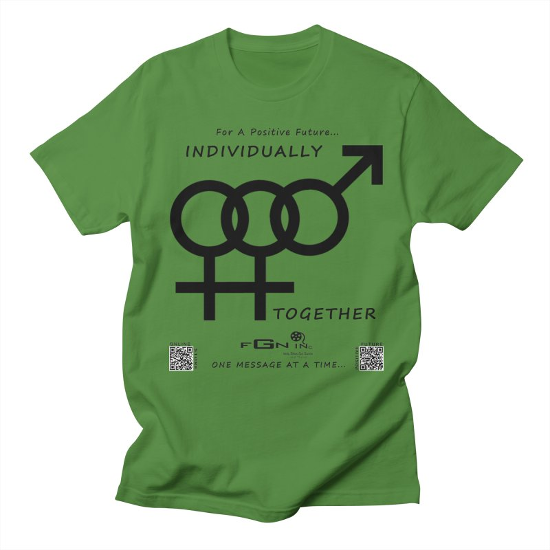 693 - Individually Together Men's Regular T-Shirt by FGN Inc. Online Shop
