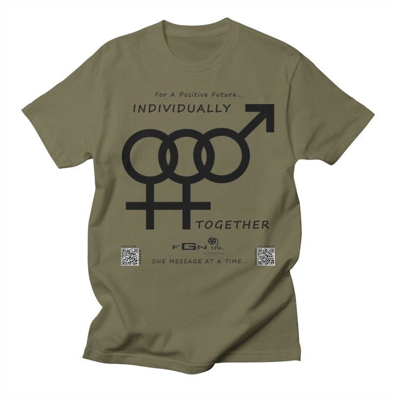 693 - Individually Together Women's Regular Unisex T-Shirt by FGN Inc. Online Shop