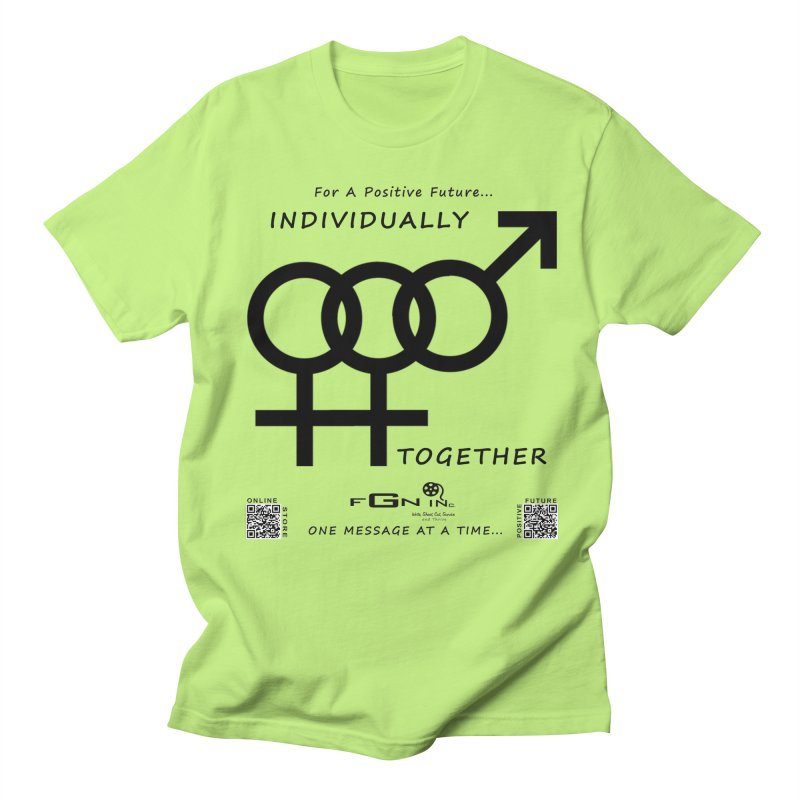 693 - Individually Together Men's Regular T-Shirt by FGN Inc. Online Shop