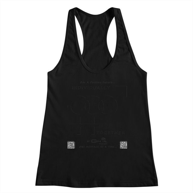 693 - Individually Together Women's Racerback Tank by FGN Inc. Online Shop
