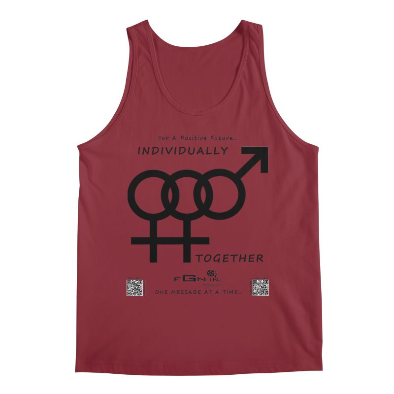 693 - Individually Together Men's Regular Tank by FGN Inc. Online Shop