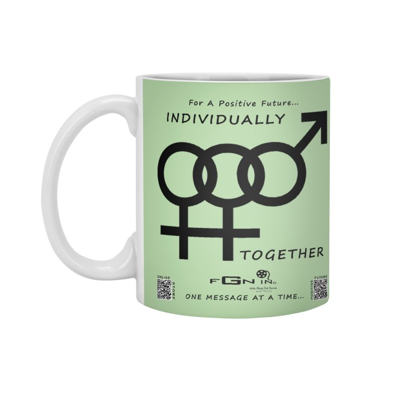 693 - Individually Together Accessories Standard Mug by FGN Inc. Online Shop