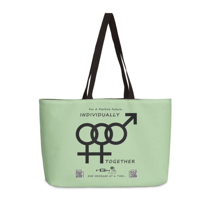 693 - Individually Together Accessories Weekender Bag Bag by FGN Inc. Online Shop