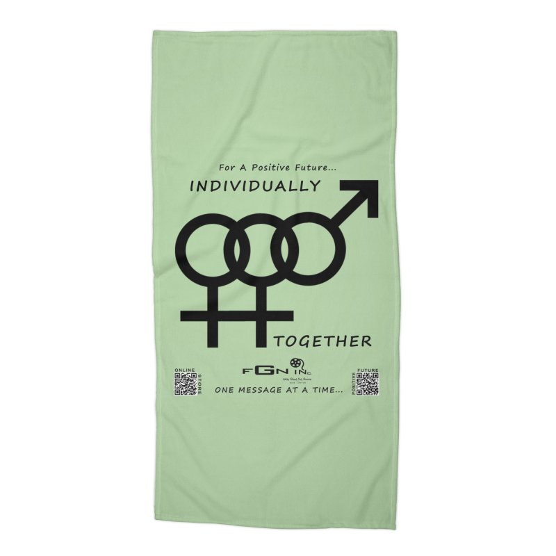 693 - Individually Together Accessories Beach Towel by FGN Inc. Online Shop