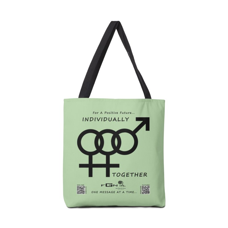 693 - Individually Together Accessories Tote Bag Bag by FGN Inc. Online Shop