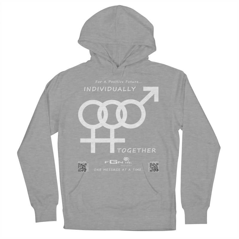 693A - Individually Together Women's Pullover Hoody by FGN Inc. Online Shop