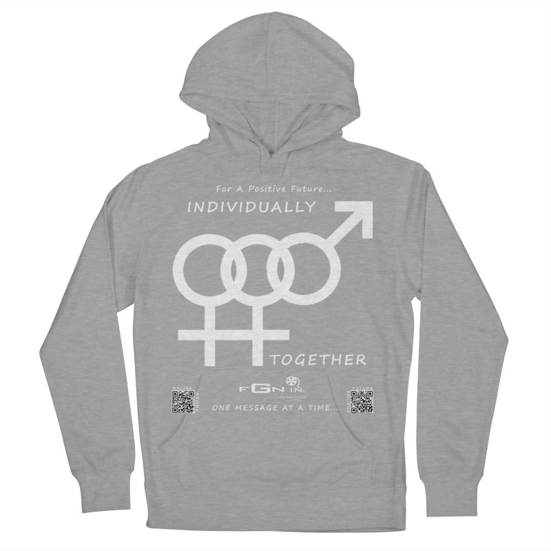 693A - Individually Together Men's French Terry Pullover Hoody by FGN Inc. Online Shop