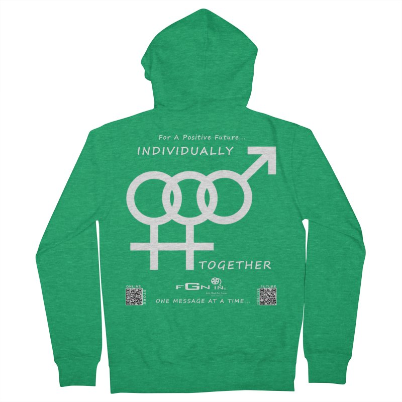 693A - Individually Together Women's Zip-Up Hoody by FGN Inc. Online Shop