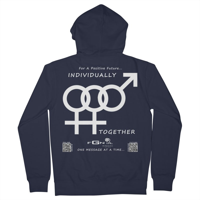 693A - Individually Together Women's French Terry Zip-Up Hoody by FGN Inc. Online Shop