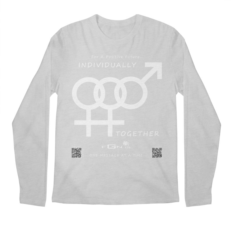 693A - Individually Together Men's Regular Longsleeve T-Shirt by FGN Inc. Online Shop